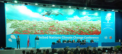 The opening of the UN climate talks in Poznan