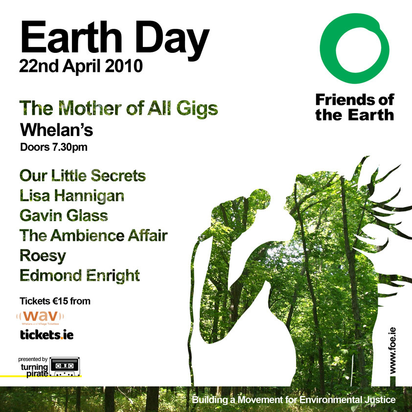 Friends of the Earth - Earth Day Gig