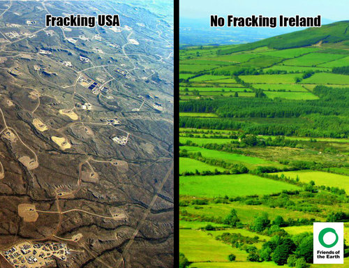 no fracking ireland