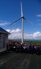School Visit to Templederry - School visit to Templederry Wind Farm, Co. TipperaryIreland's only community owned wind farm
