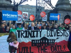 Dail divest call TCD