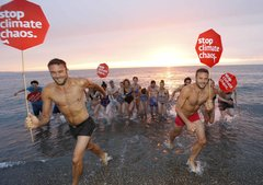 Dinner with Darwin - Sunrise swim with the Happy Pear in Greystones