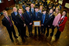 Tait House award presentation at St Munchin's College-43