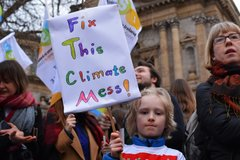 childrens climate rally
