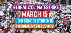 global climate strike 15 March