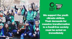 Friends of the Earth supports the schools strikes 4 climate