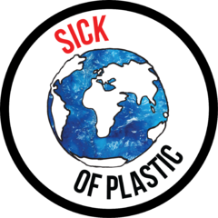 Sick Of Plastic Logo