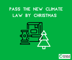 FoE climate law by Christmas press release
