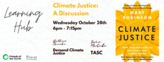 Climate Justice webinarb28 oct