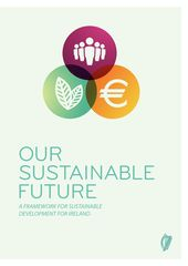 Publication cover - Our Sustainable Future Framework for Sustainable Development in Ireland - Cover image for Our Sustainable Future Framework for Sustainable Development in Ireland